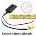 Car bluetooth Audio Adapter cable For Alfa 159/Fiat Grande Punto +Install Tool