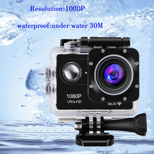 Buy Trainshow Car -styling Motorcycle DVR Unltra HD Action Camera 16M WiFi 30m Waterproof Diving Helmet Action Recorder Car DashCam