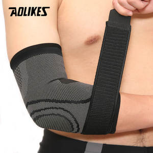 AOLIKES 1 PCS Elbow Support Protector Tennis Elastic Bandage Basketball Running Compression