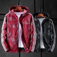 플러스 10XL 9XL 8XL 7XL 망 색상 bock 재킷 2018 남자 하라주쿠 폭격기 재킷 코트 남성 가을 스포츠 용 재킷