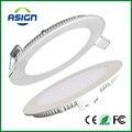 Pode ser escurecido Led Downlight Painel Ultra Fino 3 w 4 w 6 w 9 w 12 w 15 w 18 w Rodada Teto Rebaixado Spot Light Painel lâmpada AC85-265V CE UL