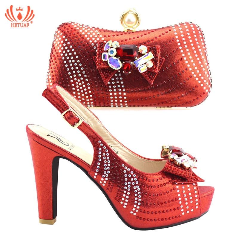 Bleu Chaussure Femmes Fête African Italien Couleur La Dans Ensemble Chaussures New 2019 Sacs Italiennes Et Assortis argent Rouge Les rouge Sac or Pour q4HvxwnFxT