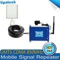 Venda quente 1 Conjunto de Tela LCD 3G GSM/CDMA 850 Mhz 850 MHz Impulsionador Repetidor De Sinal de telefone Celular Repetidor de Sinal de Celular amplificador