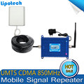 Venta caliente 1 Unidades Pantalla LCD 3G GSM/CDMA 850 Mhz 850 MHz Repetidor de Señal de teléfono Celular de Refuerzo Repetidor Móvil de la Señal amplificador