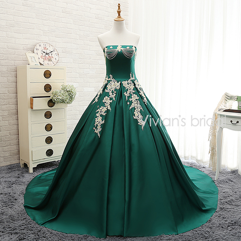 Popular Green Wedding Dress-Buy Cheap Green Wedding Dress lots ...