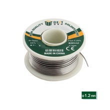BEST 100G 1.2mm Soldering Tin Wire Electronic Repair Welding Wire Solder For Intensive Circuit Board Welding Maintenance Tools cash sale 11 in 1 electric soldering iron high quality 30w circuit board maintenance tools makita power makita power tools