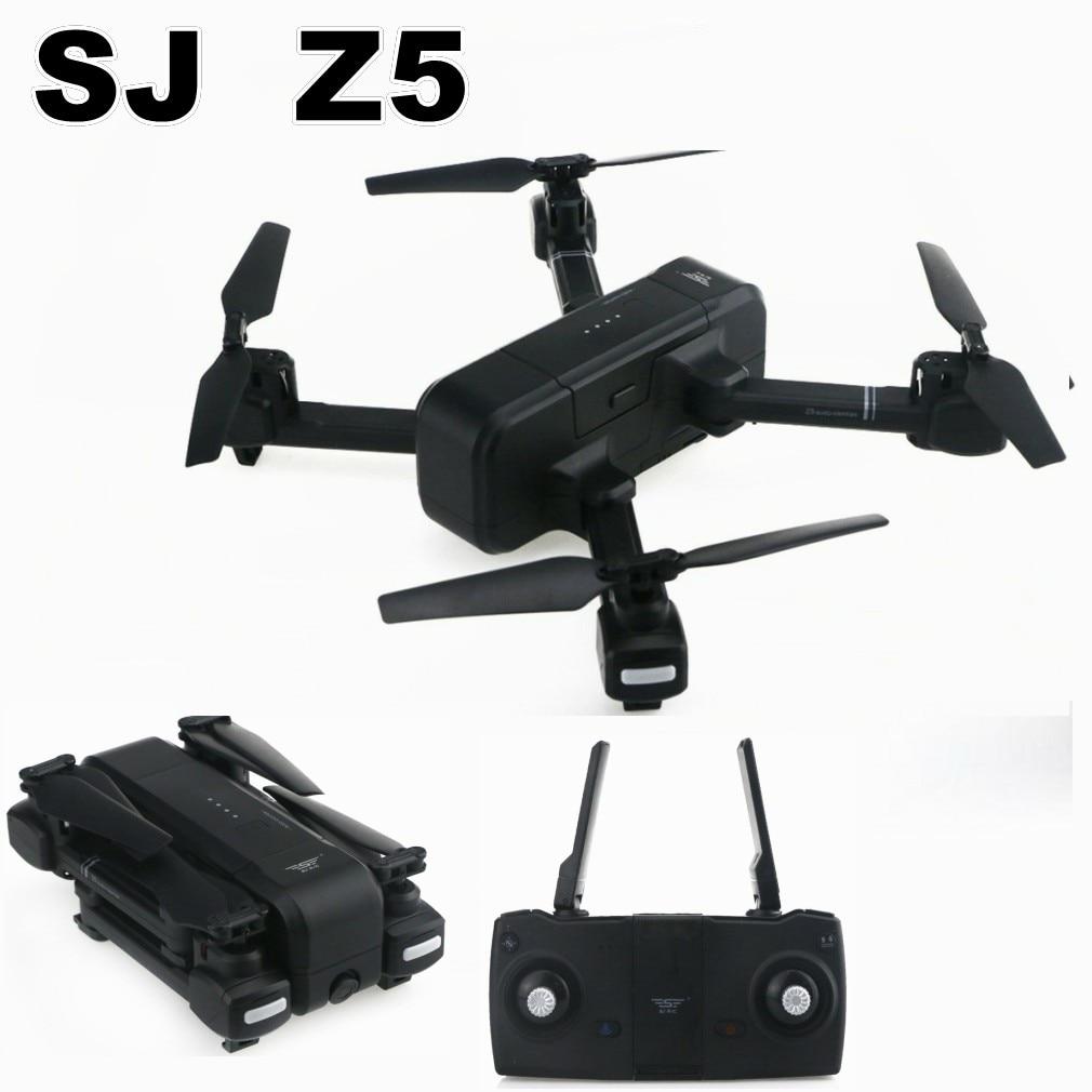 SJ Z5 Double GPS RC Drone Quadcopter avec 1080 p HD Wifi Grand Angle FPV Caméra Réglable Image Me Suivre geste Selfie Robinet Vol
