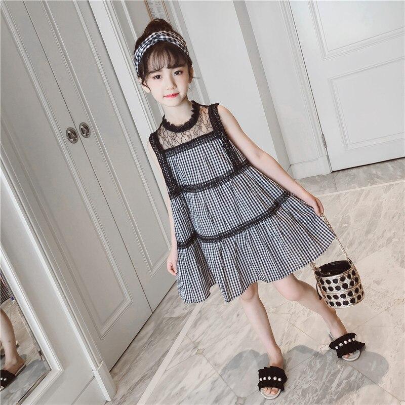 d7ed50b64 3-13 T vestido de verano niñas elegante vestido de niños ropa de bebé de  Boho Floral vestido de ...