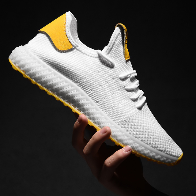 Mens Casual Lace-Up Comfortable Sneakers
