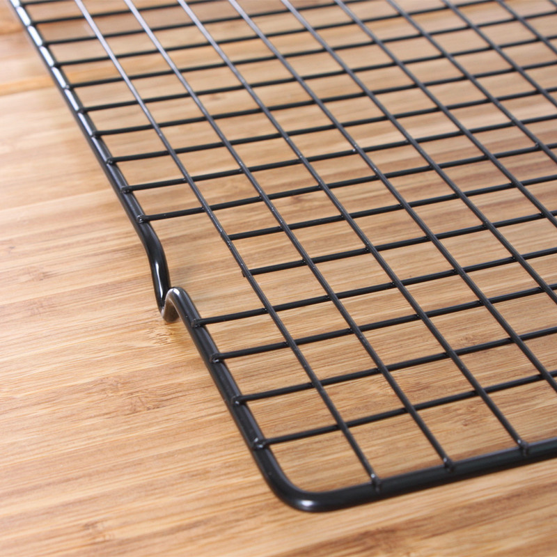 2Pcs Set Baking Tools Cooling Rack For cookies cake bread Iron 25 40cm 10 16 inch