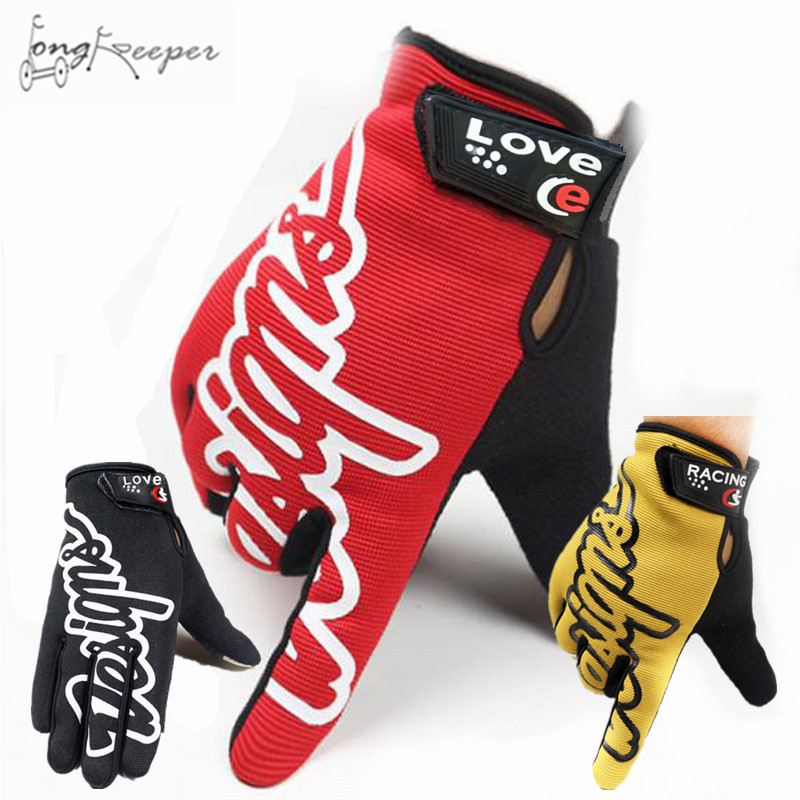 LongKeepr Mens Sports Gloves Full Finger Biking Cycling Gloves for Men Women Touch Screen Gloves Guantes Bicycling Luvas 2017
