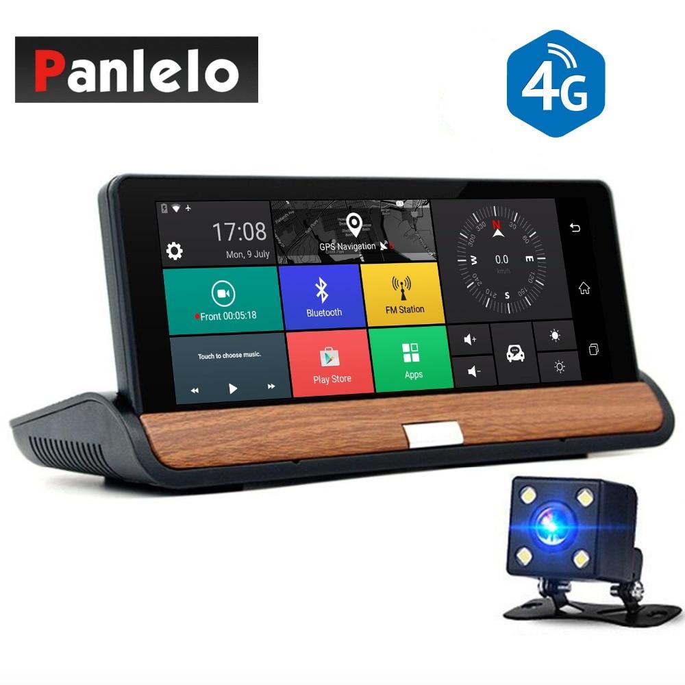 Автомобиль тире Камера DVR 6,8 Android 5,0 автомобиля gps навигации WI FI 1080 P видео Регистраторы 3g/4G Bluetooth заднего вида Cam G Сенсор 1 ГБ