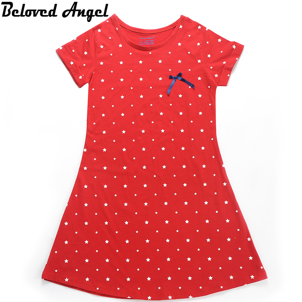 Beloved Angel New Design Baby Girls Dress Summer Children Girl 4 Style Dresses Kids Princess Bowknot Dresses 1 - 13 Years скатерть angel ya children tsye zb266 88