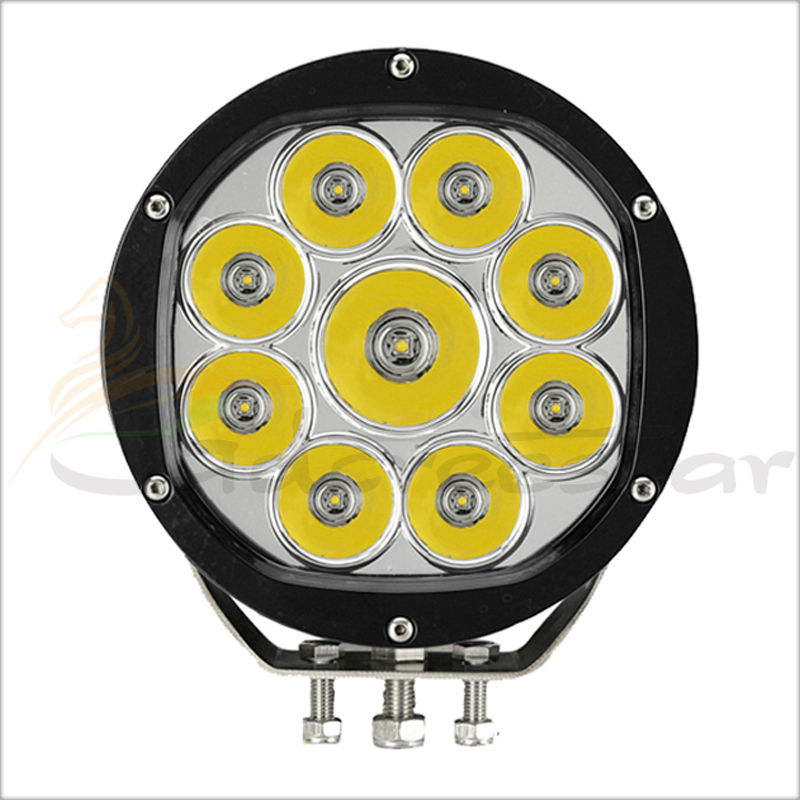 Здесь можно купить   7inch Round 90W LED Work Light Tractor Truck 12v 24v IP67 SPOT Flood Offroad LED Drive light LED Fog Light used for SUV ATV CAR Автомобили и Мотоциклы