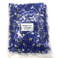 1000pcs/bag 2.8mm 4.8mm blue Female Insulated Spade Quick Connector Terminal/Crimp for Arcade cabinet Wires/Jamma Harness