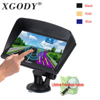 Xgody 715 7 Inch Hd Car Gps Navigation 128M 8GB Capacitive Screen Truck Gps Europe Sat