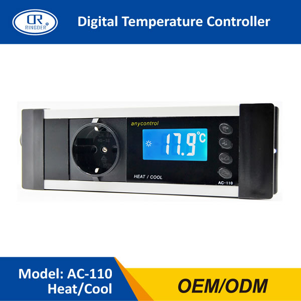 Aquarium Controller 10 Steps With Pictures: RINGDER AC 110 230V10A 16 40C Digital Reptile Thermostat