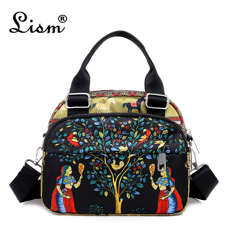 Brand Fashion Waterproof Oxford Women Handbags High Quality Crossbody Bag For Women Casual Female Printing Messenger Bag
