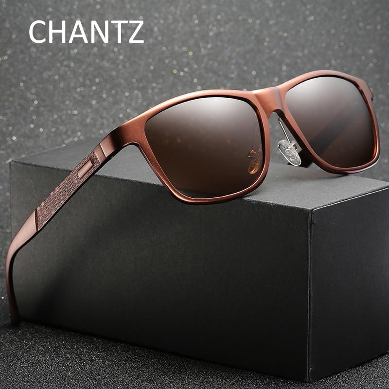 Gafas de sol polarizadas de aluminio de la vendimia del magnesio - Accesorios para la ropa