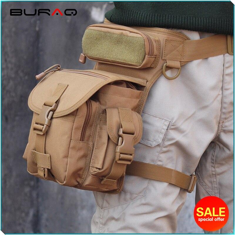 Jualan Panas Taktikal Tentera Pinggul Pelbagai fungsi Penyamaran sukan berjalan beg Beg pinggang pinggang kaki pinggang untuk lelaki