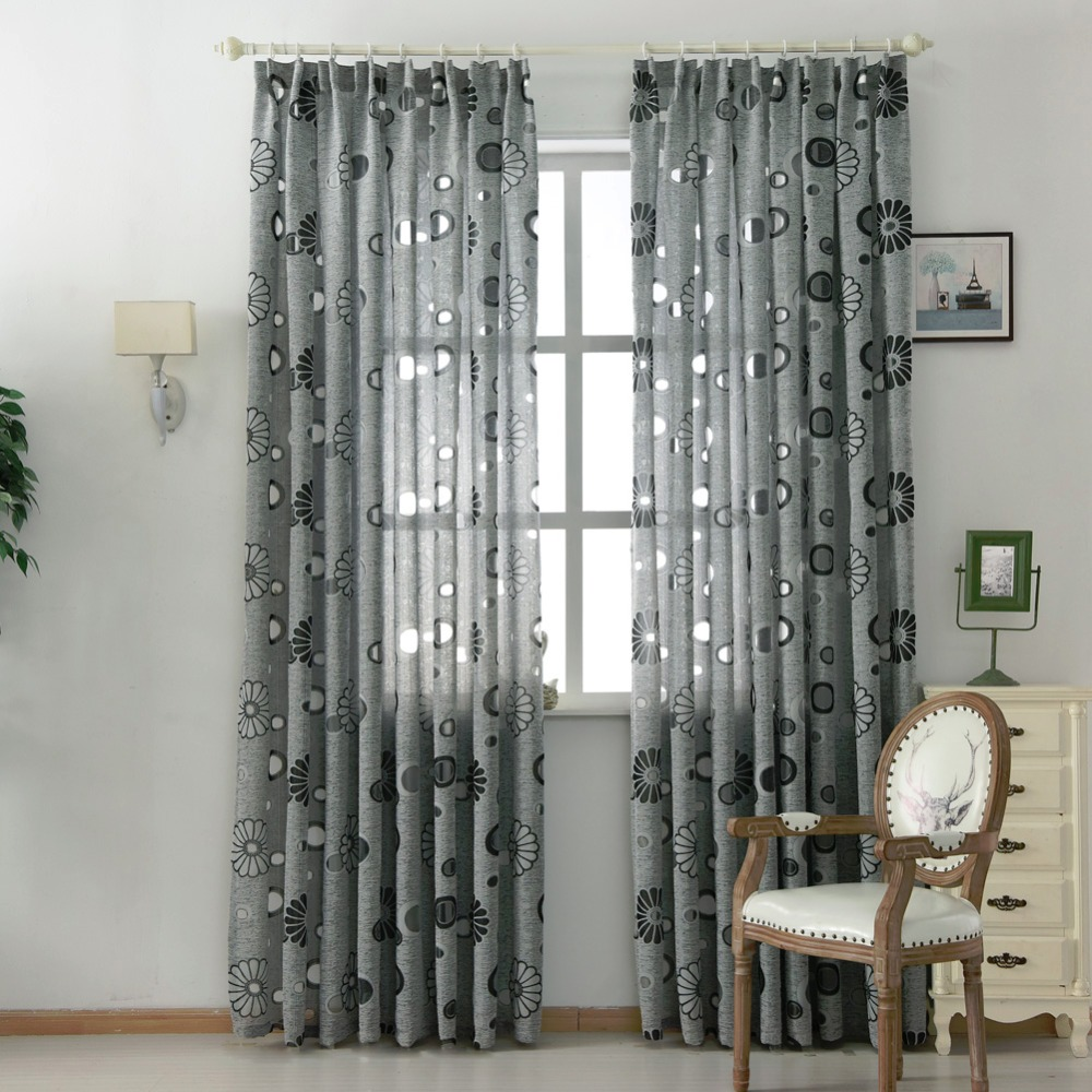 p modern contemporary curtains cheap room living black curtain cool linen