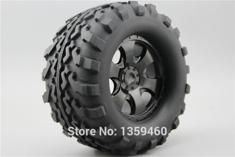 4pcs 1 8 Monster Truck Wheels Tire Set Tyre For HPI SAVAGE REVO Traxxas 1 8