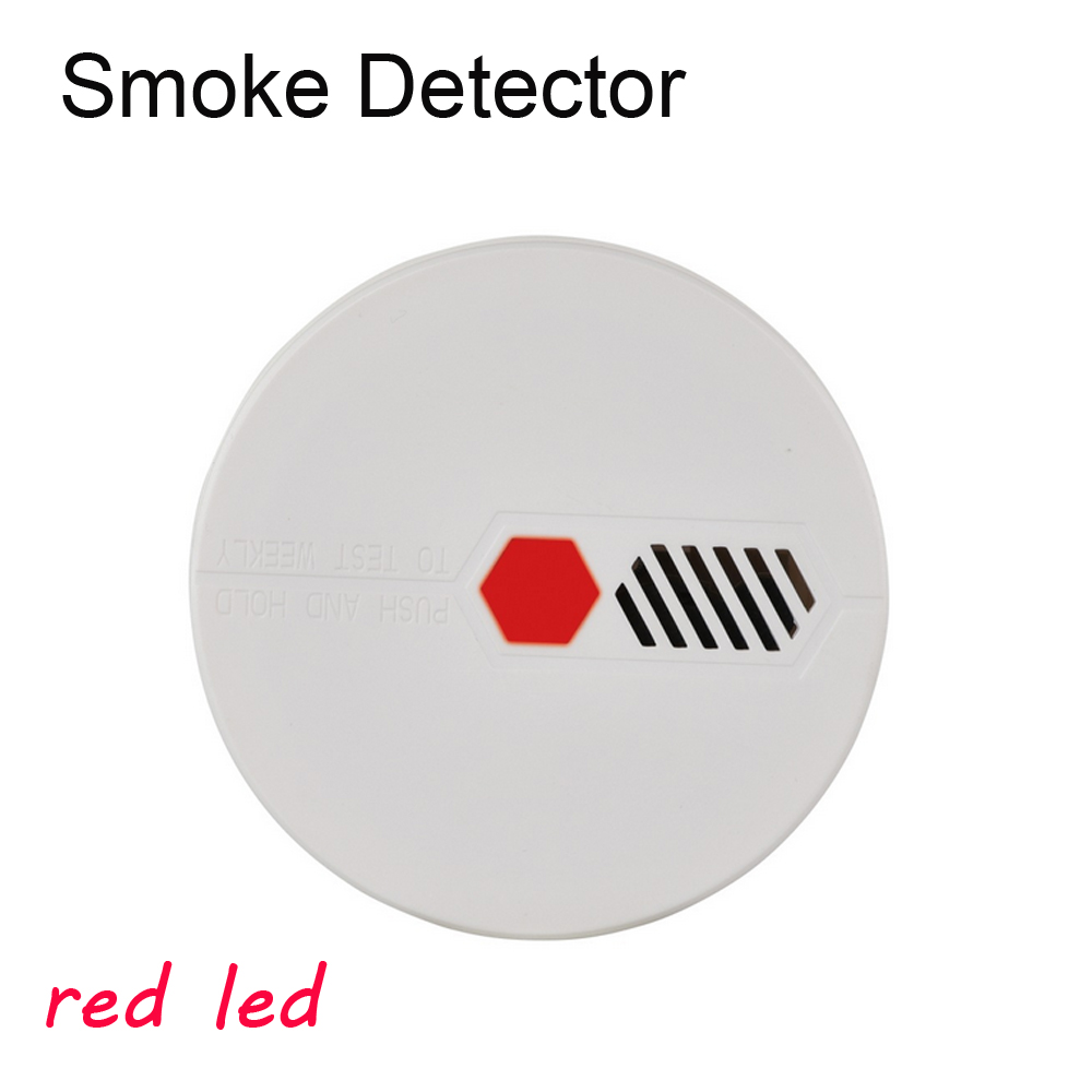 Independent Optoelectronics Smoke Detector Audible Alarm Fire Sensor For Home Security Home Alarm System