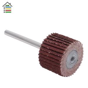 Image 5 - 10PC Mini Abrasive Tools Flap Wheel Sanding Sandpaper Grinding for Dremel Rotary Paper Polishing for Woodworking 80 600 Grit