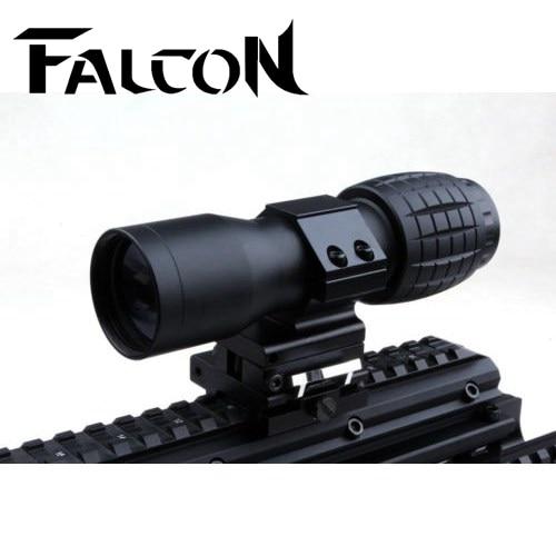 Equipo de caza Táctico de Airsoft rifle scope Enfoque Ajustado Con Vertical De M