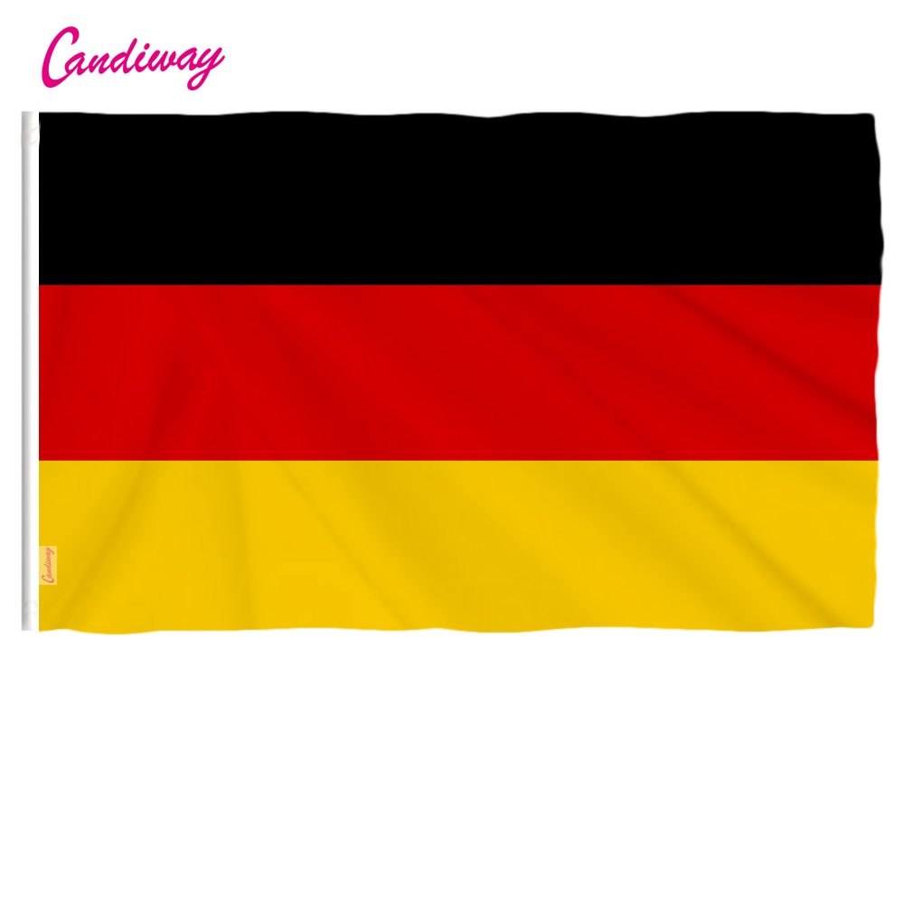 US $2 03 15% OFF|oriflamme Wave 3x2 Feet Super Poly German FLAG 90*60cm  Indoor/Outdoor germany FLAG Home Decoration Christmas's gifts-in Flags,
