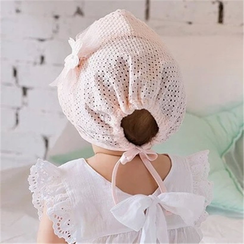 39f4e2b0933fc Girls Infant Baby Newborn Kids Bucket Hat Children Cap Beanie Bonnet Hair  Accessories Bebe Hats Baby reborn Photography Props-in Hats   Caps from  Mother ...