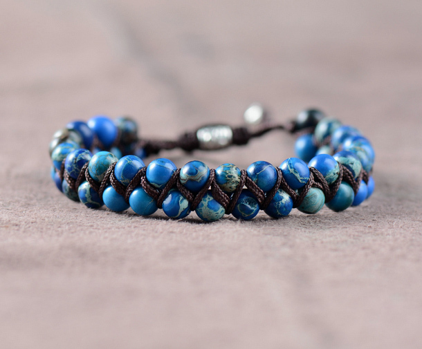 Men Bracelet Cool Natural...