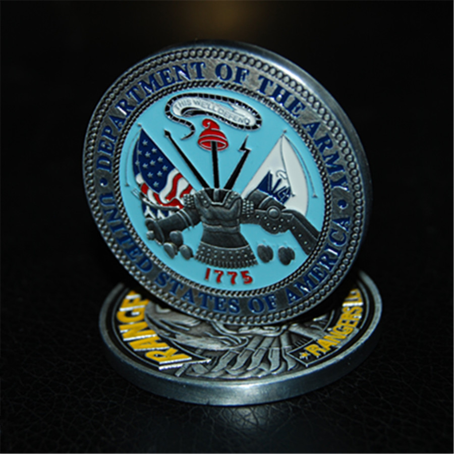 US Army Ranger Challenge Coin - Rangers Lead The Way (4)