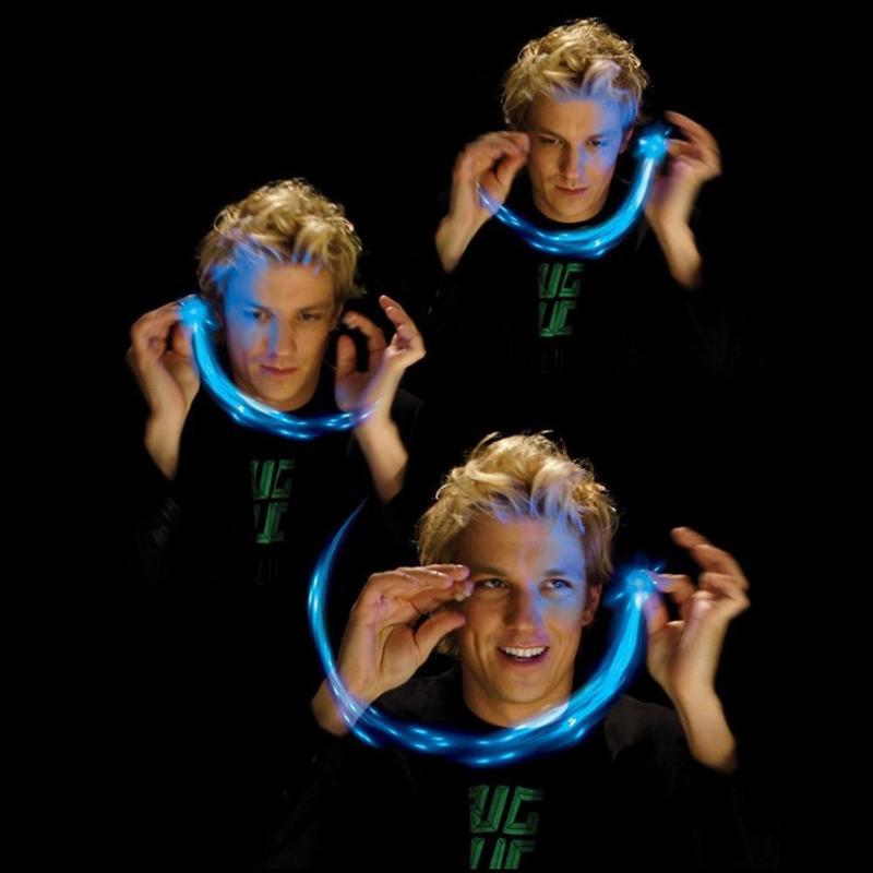 Лидер продаж 3D пчелы голограмма проекция Магия люминесцентные пальцы Развлечения игрушка светятся в темноте Пластик Bee игрушка для девочек...