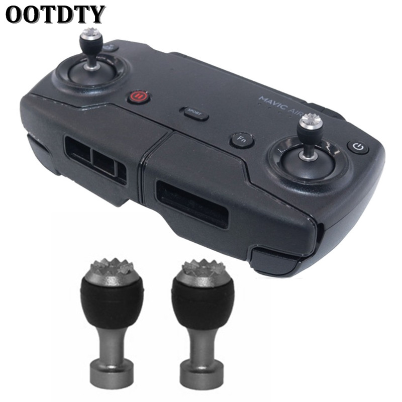 OOTDTY 1Pair Remote Controller Stick Cover Joysticks Detachable For DJI Mavic Air Parts
