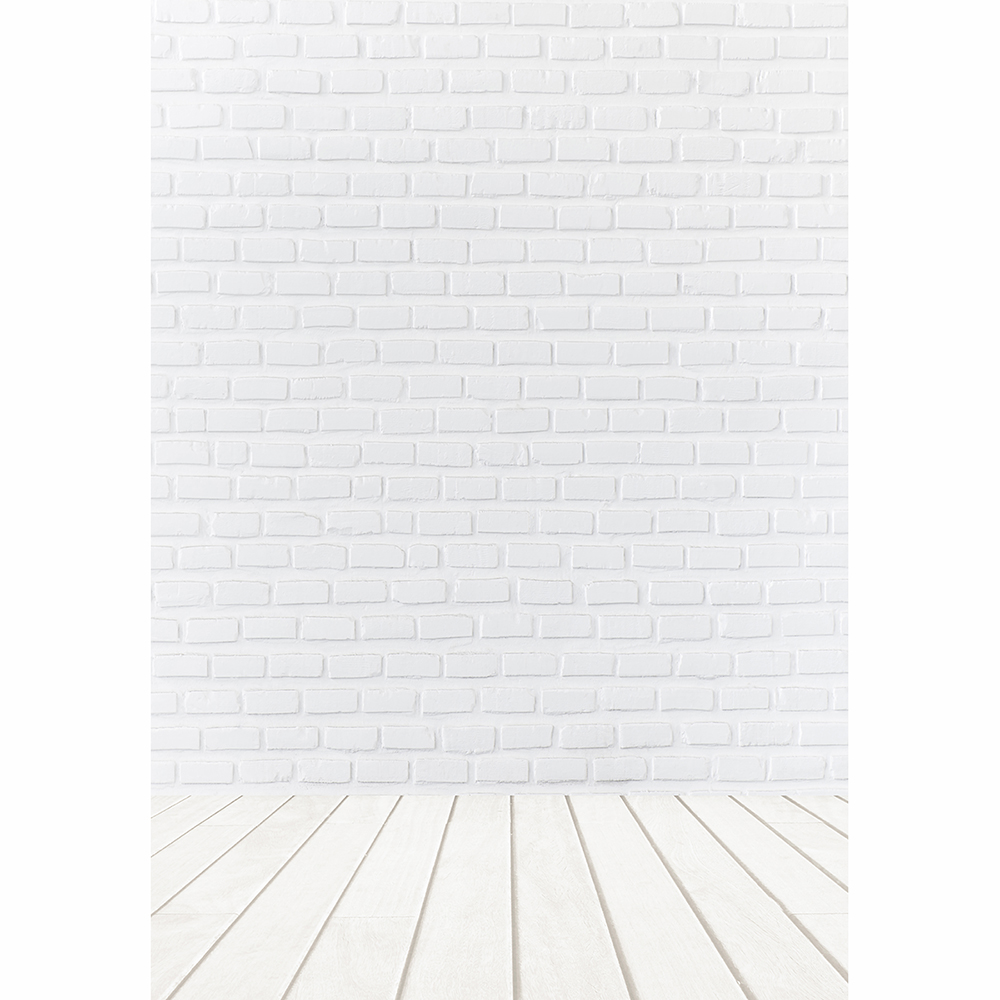 Allenjoy Photo background white brick wall wood floor indoor photographic Background for photo backdrop studio fabric photocall in Background from Consumer Electronics