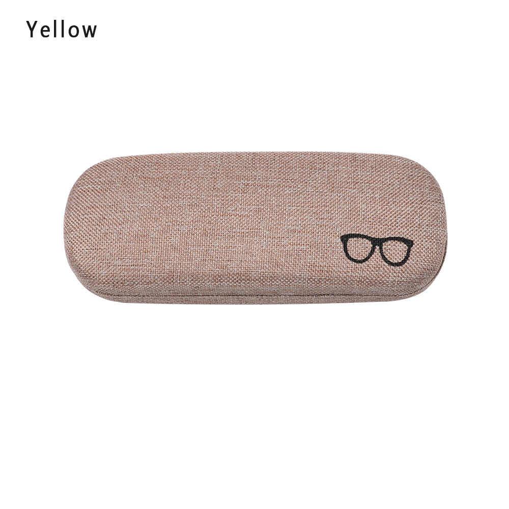 HOOH ผู้ชายผู้หญิงเด็กใหม่แฟชั่นแว่นตาหนัง Shell Protector แว่นตา Sun แว่นตากล่องกระเป๋าแบบพกพากระเป๋า