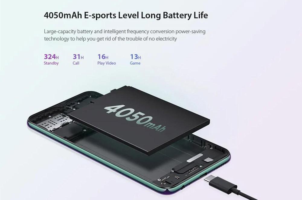 Original Lenovo Z6 Lite Snapdragon 710 Octa Core Triple Back Cams 6.3 Inch 19.59 Water Drop 4050mAh Smartphone (4)