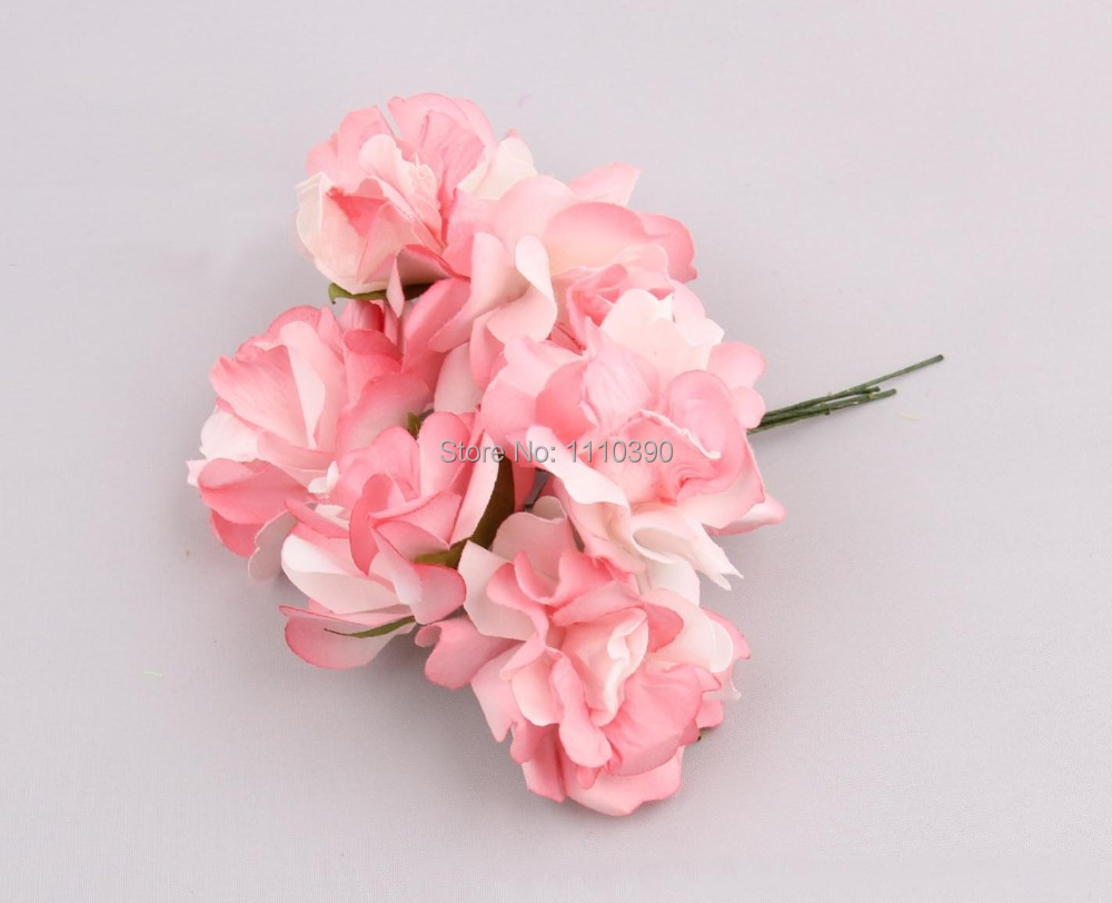 5cm Artificial Decorative Rose Bouquetsreal Touch Rosestissue