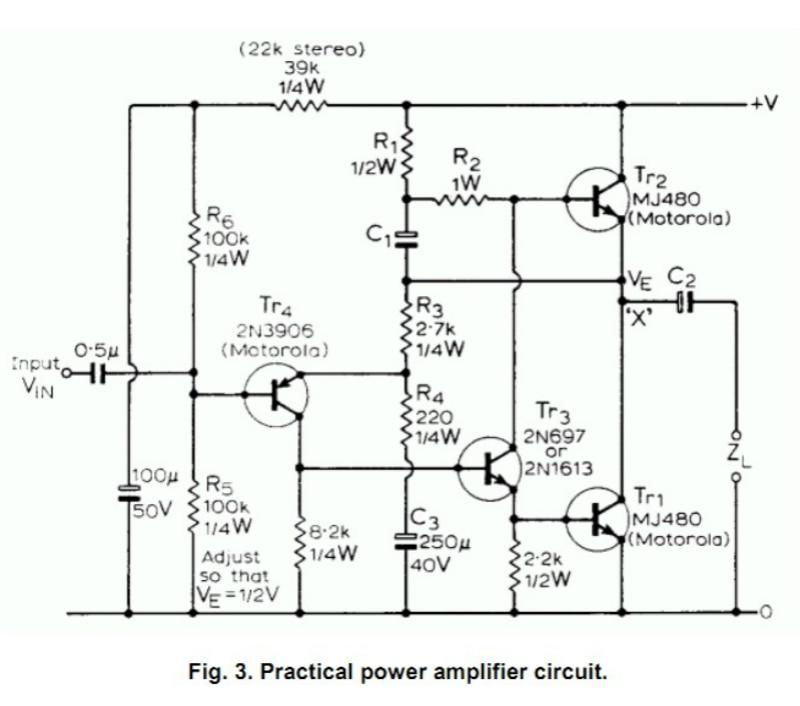 Купить с кэшбэком ST2N3055 New Original JLH 1969 Two Channels Simple CLASS A Preamp Power Amplifier DIY kit Transistor Amplifiers Board