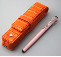 Pink JINHAO Ballpoint Pen And Pen Bag School Office Stationery Brand Roller Ball Pens Men Women