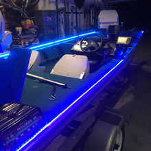12V LED Boat Marine Accent Lighting Package Light Kit PONTOON LIGHTS easy 2 wire connect