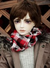 Free shipping 1/3 bjd sd doll male baby luts 09WINTER Christmas Special Edition naked baby Free eyes