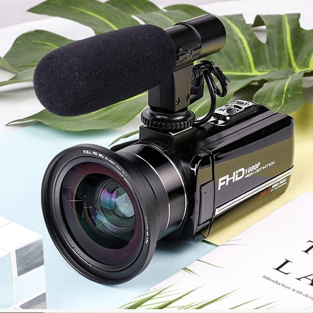 Komery Genuine Original DV-02 Video Camera 3.0 inch Touch Screen 2400w Pixel 8X Digital Zoom Support WiFi Three-year warranty 5