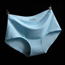 Hot High Quality Sexy Underwear Women Seamless Panties Tanga Sexy Briefs Silk Calcinha Blankholding Comfort Panties 5WH003