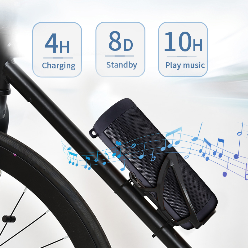SUPERSTUNT! Huawei Optimus Prime T2 Bluetooth speaker Draagbare Draadloos Waterdichte Outdoor Speakers Fiets Bidon Houder Design Box OP=OP 4