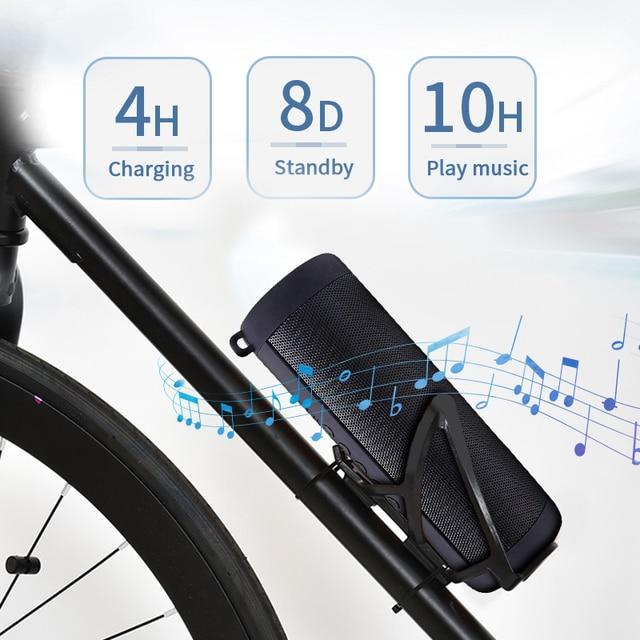 Ecoboseo altoparlante del Bluetooth Portatile di Altoparlanti Senza Fili Per Il Calcolatore Del Telefono Musica Stereo surround Impermeabile Altoparlanti Esterni 4