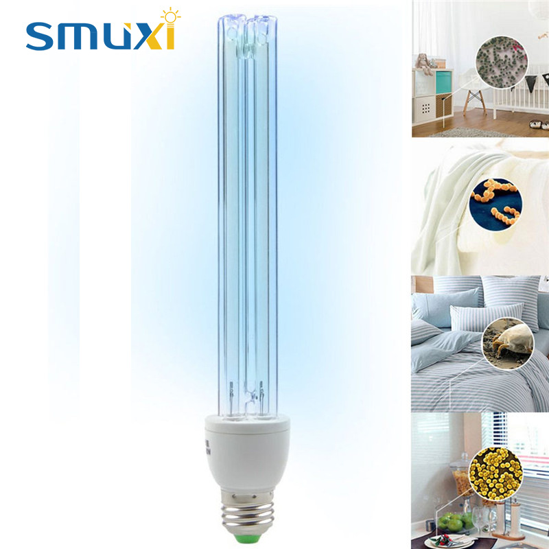 Smuxi 20W E27 UVC Germicidal CFL Lamp Bulb UV Light CFL ...