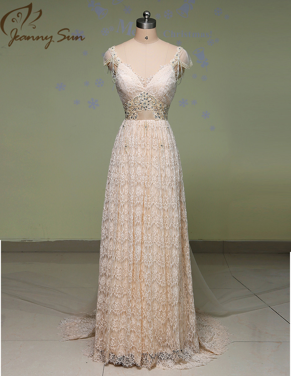 Vintage Wedding Dresses Five Dock : High quality vintage wedding dresses sheer lace bridal gowns