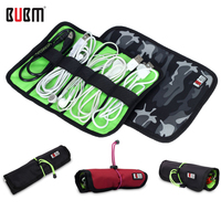 Bag For Cables BUBM L Size Cable Organizer Bag For Hard Drive Cables USB Flash Drives